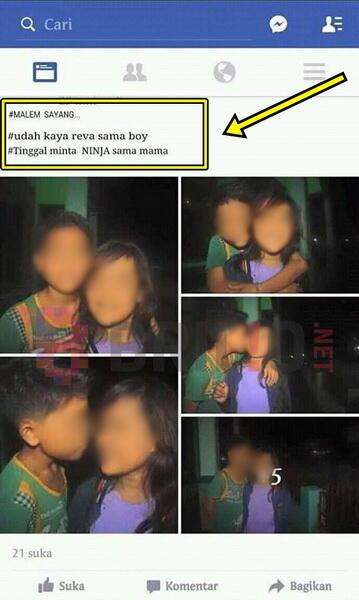 Terinspirasi sinetron Anak Jalanan, dua bocah ini ciuman dan minta motor Ninja