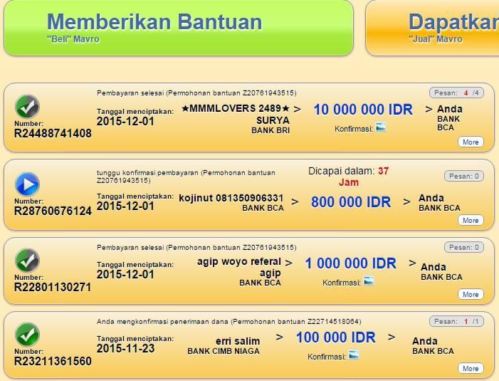 MMM INDONESIA LANCAR JAYA !