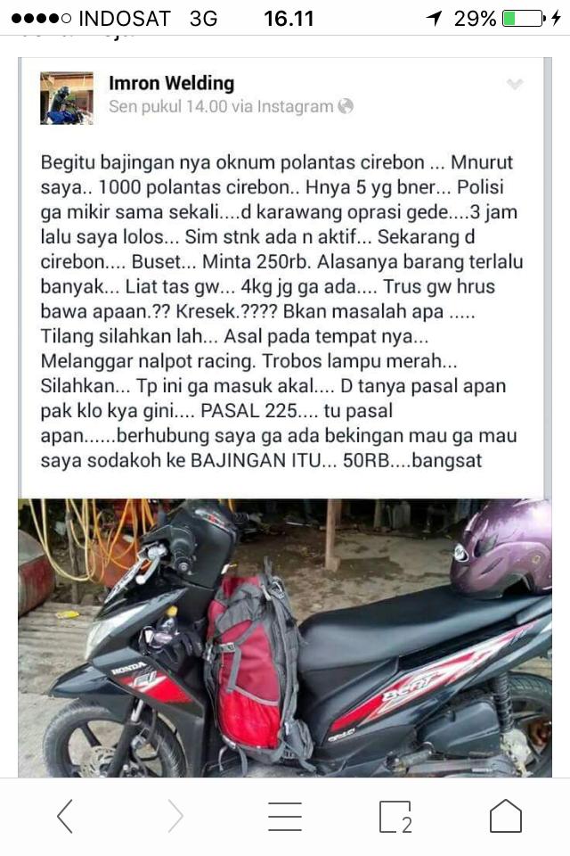 Marak Penilangan, Netizen Cirebon Bikin Meme 'Kota Tilang' untuk Sindir Polisi