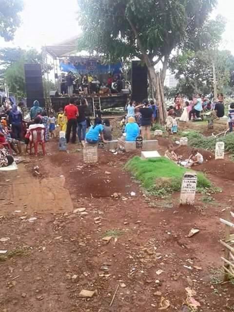 Hal-Hal Tak Lazim yang Ditemukan dalam Area Kuburan