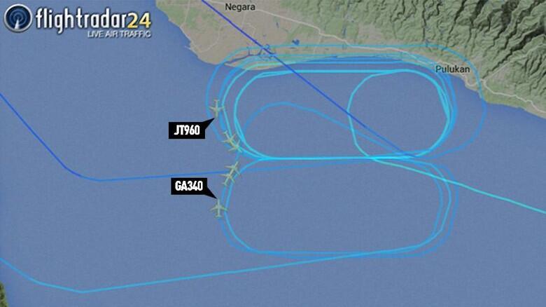 Detik Detik Pesawat Garuda Dan Lion Air Nyaris Tabrakan Di Langit