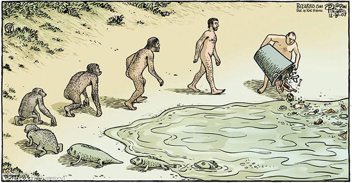 Kartun Satir Ini Dibuat Untuk Merayakan Hari Teori Evolusi Darwin