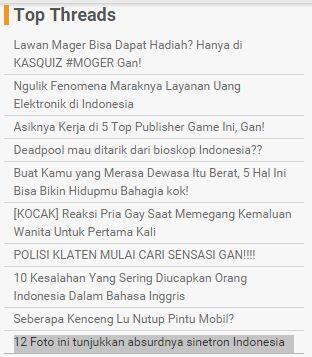 12 Foto ini tunjukkan absurdnya sinetron Indonesia