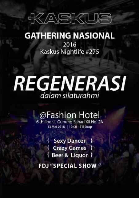 Gathering nasional kaskus nightlife #275