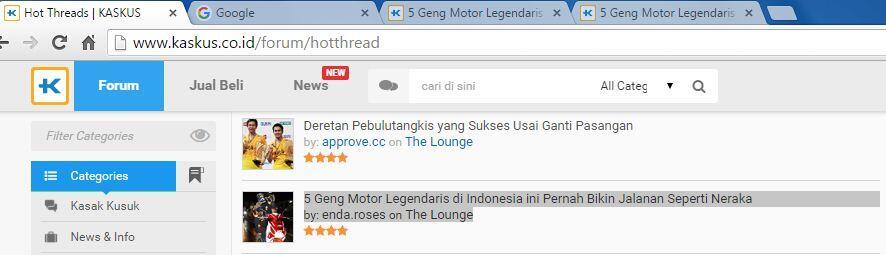 5 Geng Motor Legendaris di Indonesia ini Pernah Bikin Jalanan Seperti Neraka