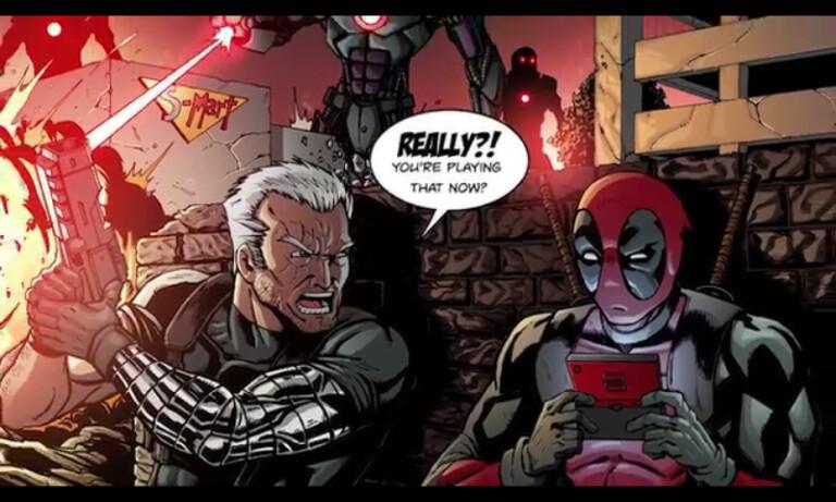 Aftercredits Deadpool 'Nyontek' Dari Film Jadul, Gan! | KASKUS