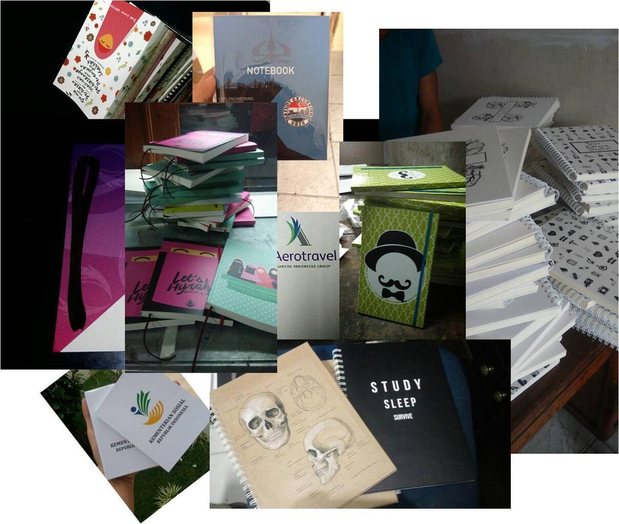 [WTS] Notes BOOK / Buku Harian & Catatan Custom Design