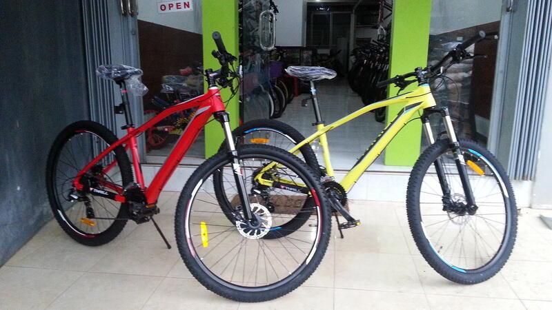 Terjual Sepeda Gunung Thrill Vanquish >>Damai Rejeki Bike