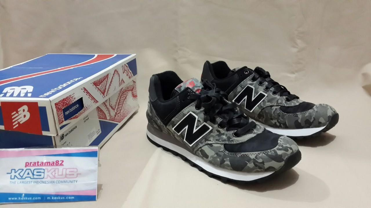 100% ORIGINAL NEW BALANCE ML574CBA SIZE 40 CAMO ARMY SNEAKER SHOES not  asics  ea4b14dba2