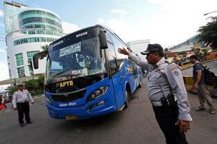 APTB Resmi Dilarang Beroperasi di Ibu Kota