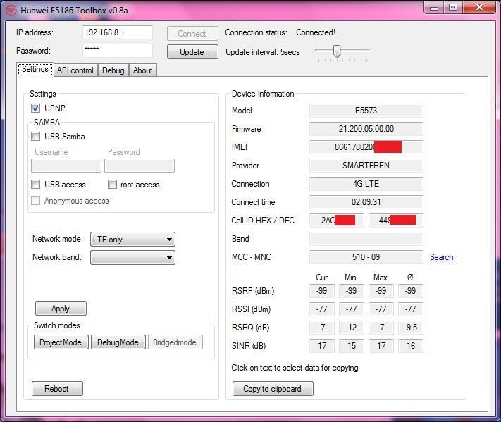 Download Huawei Toolbox E5577