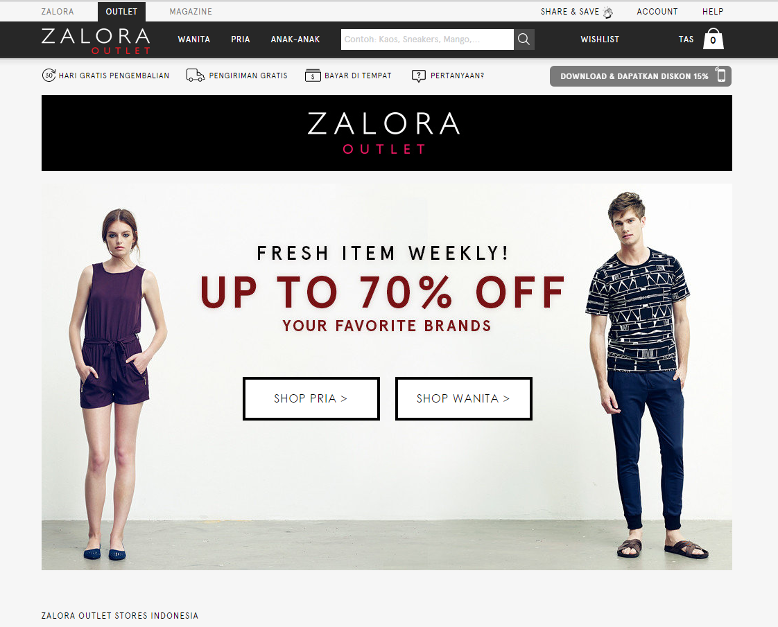 70%OFF  ZALORA EXCLUSIVE ITEMS! 6e5d52079a