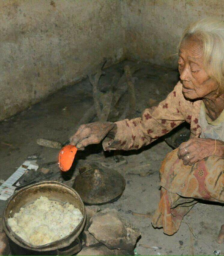 Jangan Sampai ibumu Dan Kelak Kalian Menjadi Tua Mengalami Nasib Seperti Beliau