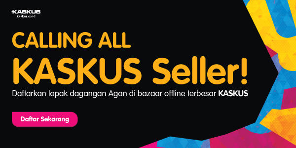 MARKAS, Daftarin Lapak Agan di Bazaar Offline Terbesar KASKUS!