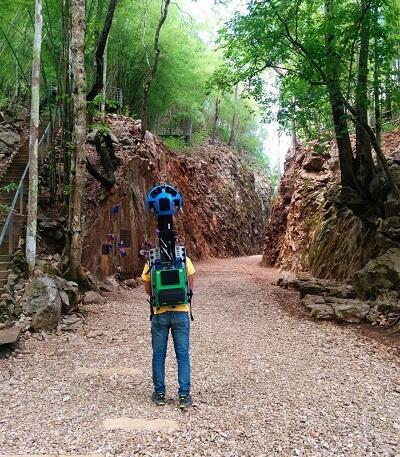 Pria Ini Berjalan 500 km untuk Merekam Daerah yang sulit Dijangkau di Thailand
