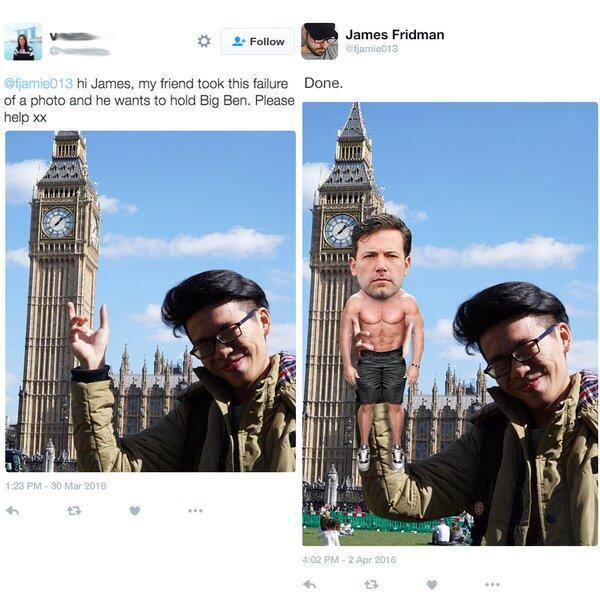 James Fridman - Ahli PhotoShop yang bikin ngakak