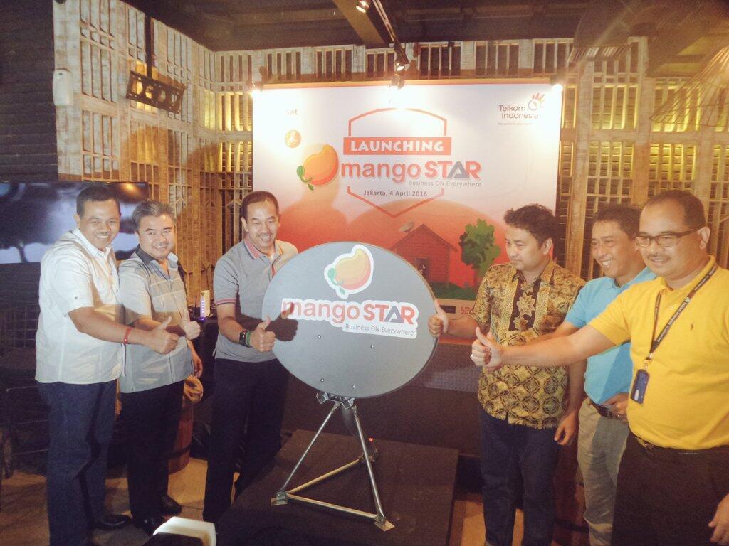 Telkom Hadirkan MangoSTAR, Internet Berbasis Satelit bagi UKM