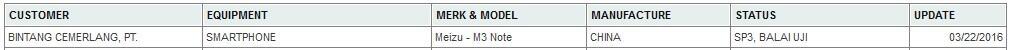[WAITING LOUNGE] MEIZU M3 NOTE - helio p10, front fingerprint, 4000 mah, 2.5D curved