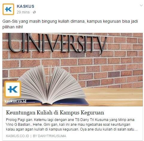 Keuntungan Kuliah di Kampus Keguruan