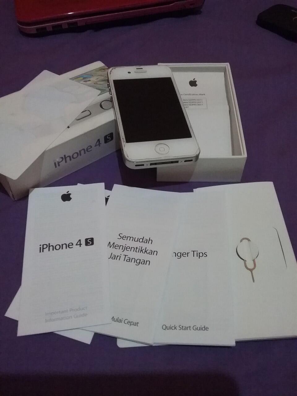 Iphone 4s 64gb Kaskus 16gb Fu Garansi Distributor 1 Tahun