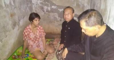 Gadis Ini Ditemukan Terpasung Saat Perayaan HUT Batang Berlangsung