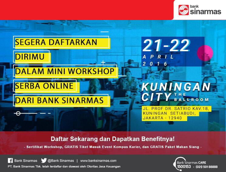 GRATIS Tiket Masuk Event Kompas Karier Fair 2016 Kuningan City