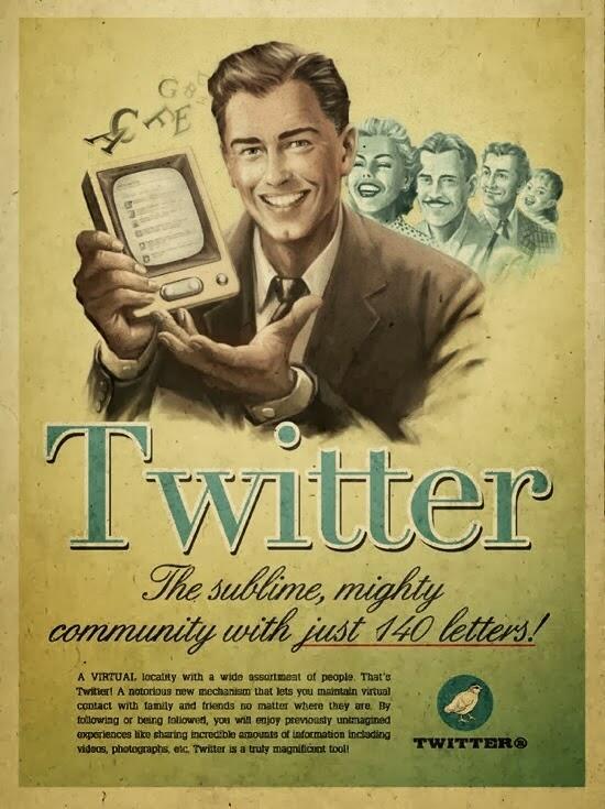 Sedikit Berimajinasi, Ini Penampakan Jejaring Sosial Top Jika Diciptakan di Era 60an