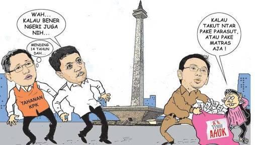 Teman Ahok Penuhi Jumlah KTP, Politikus Gerindra Terjun dari Monas?