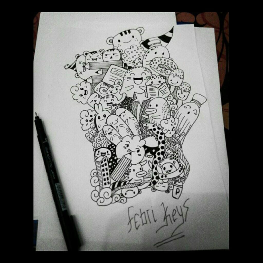 Doodle Buatan Ane ---- Pendapat Agan Gimana ?