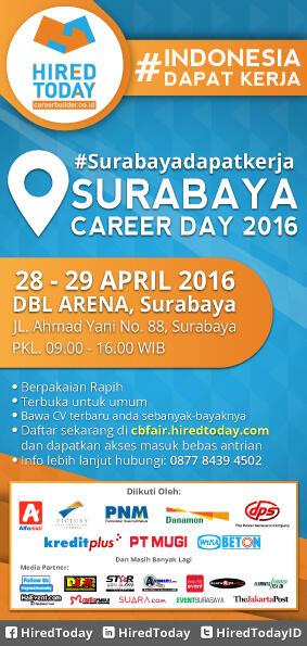 Surabaya Event Career Fair 2016