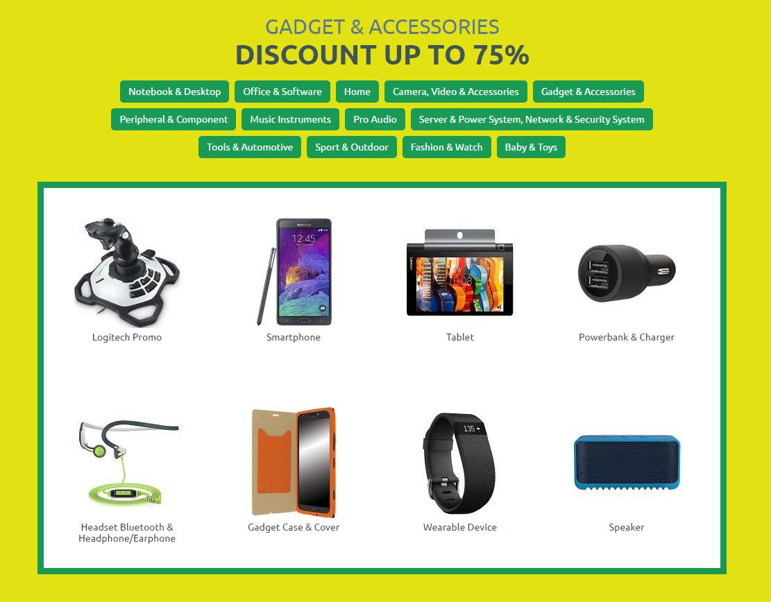 Kupon 100 RIBU Consumer Week!