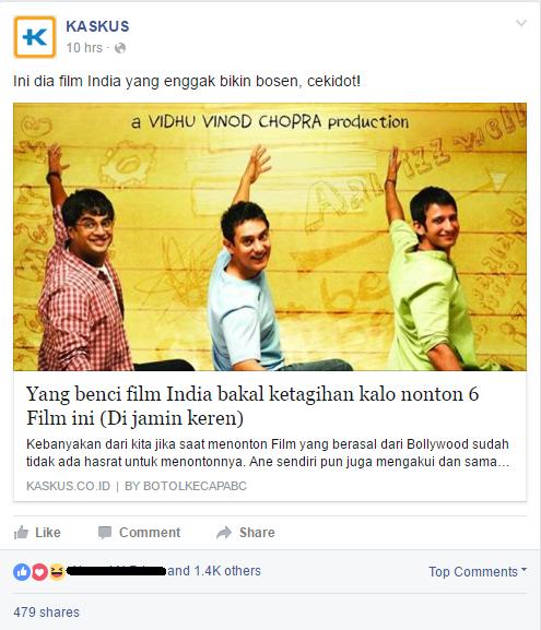 Yang benci film India bakal ketagihan kalo nonton 6 Film ini (Di jamin keren)