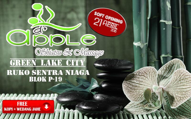 [NEW BRAND] D'Apple - Shiatsu & Massage @GreenLake City