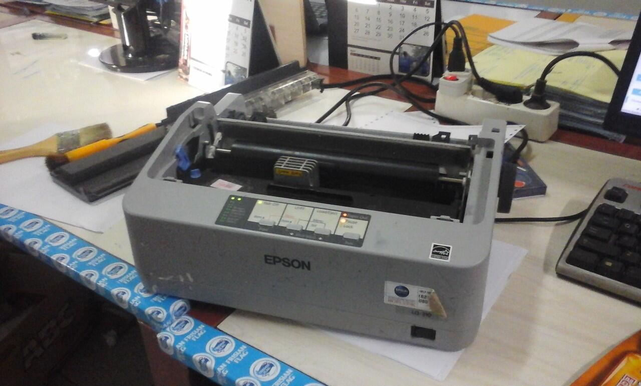 Cara Memperbaiki Printer Dot Matrik Epson Lq 310 Kaskus Lx Ask