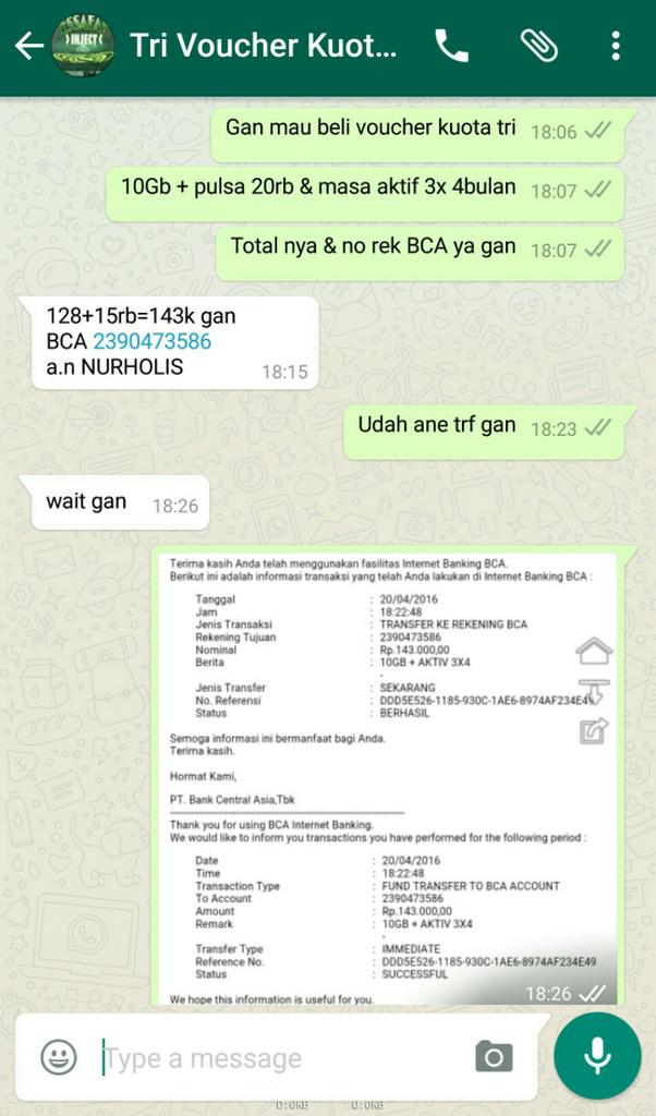 Jual Inject Paket Internet Reload Kuota Data Voucher Xl Axis Bolt
