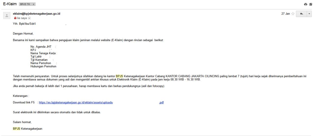 Pencairan Jht Bpjs Ketenagakerjaan Secara Online Kaskus