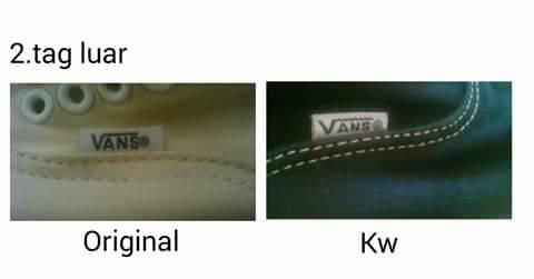 """membedakan & Membedah VANS classic authentic """"ORIGINAL"""" dan """"KW"""""""