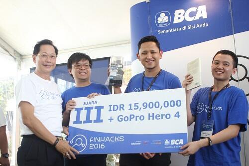Inilah Para Pemenang Finhacks 2016 dengan Inovasinya untuk Perbankan Indonesia