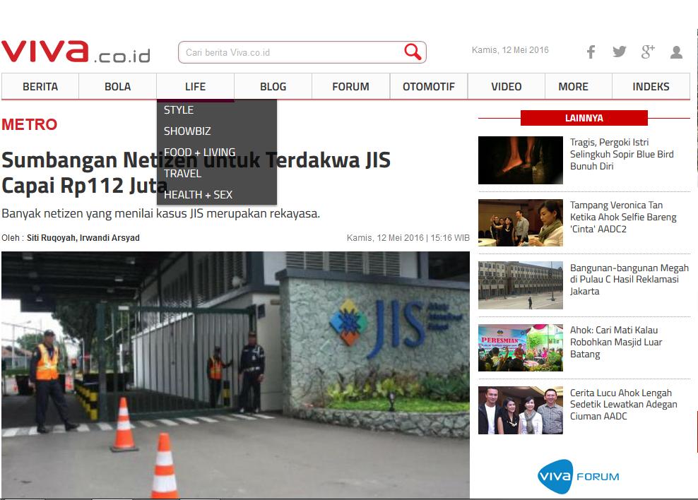 "[HOT NEWS] Investigasi @kurawa ""Kriminalisasi Kasus JIS"""