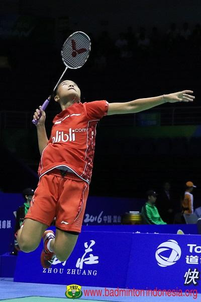 Live Update Thomas & Uber Cup 2016: Indonesia vs Bulgaria (Uber)