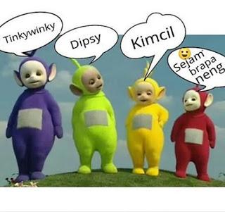 Kumpulan Meme Lucu Teletubbies