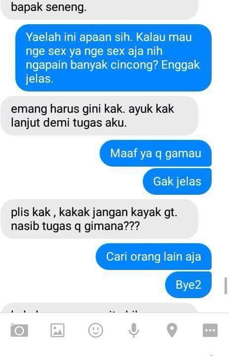 Share modus chat terselubung | KASKUS