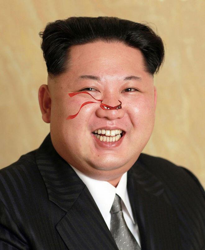 Ketika Kim Jong Un Pasang Foto Baru, Seperti ini Nih Hasilnya
