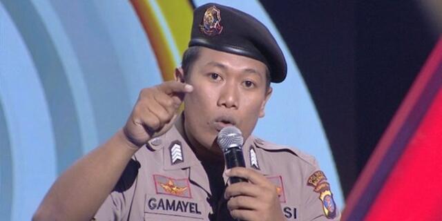 Mengenal Bripka Mei Mahatthir Gamayel Seorang Polisi yang Menghibur