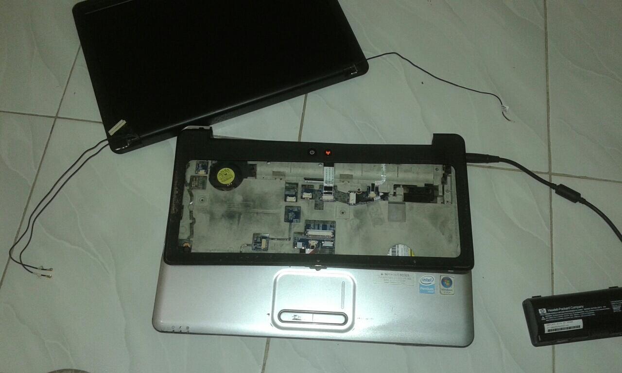 (ask) laptop compaq cq40 mati total