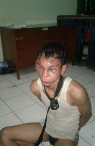 Foto tertangkapnya Geng Motor pembunuh Kopassus HOAX