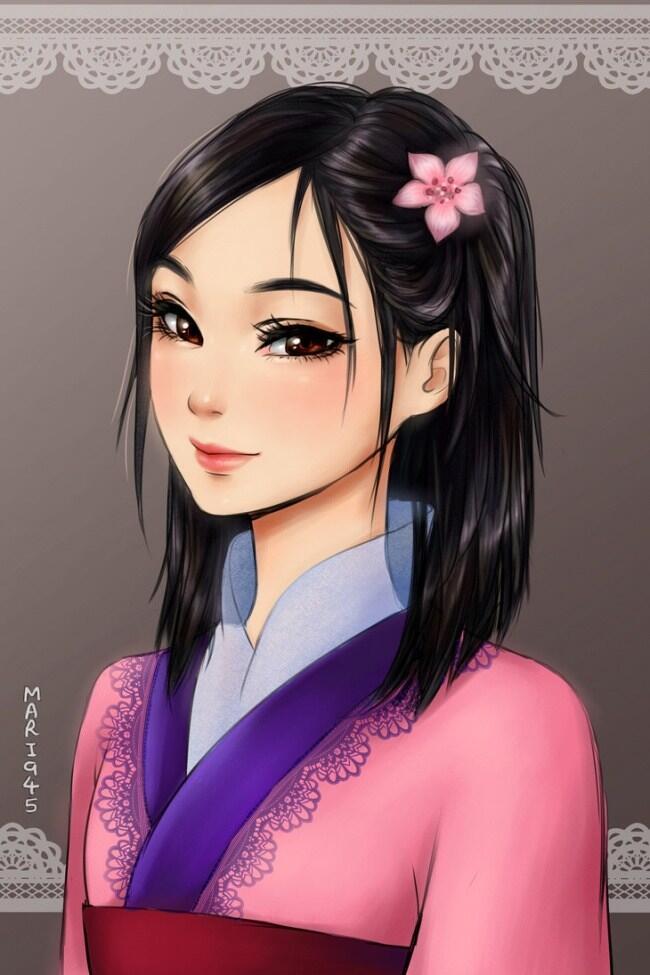 Apa Jadi Wajah Putri Disney Diubah Seperti Ala Anime