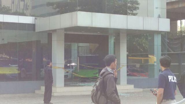 Showroom Lamborghini TB Simatupang Ditembaki Orang tak Dikenal