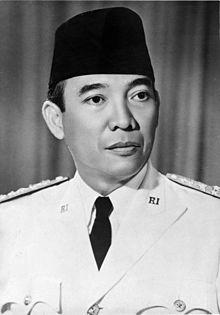 1st presidend of indonesia in office
