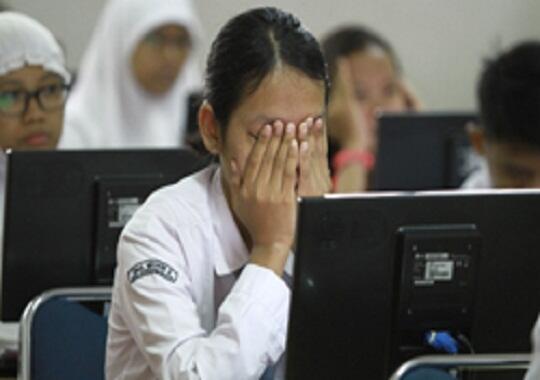 Berbagai Perasaan Pelajar Saat Pertama Kali Ujian Nasional Online